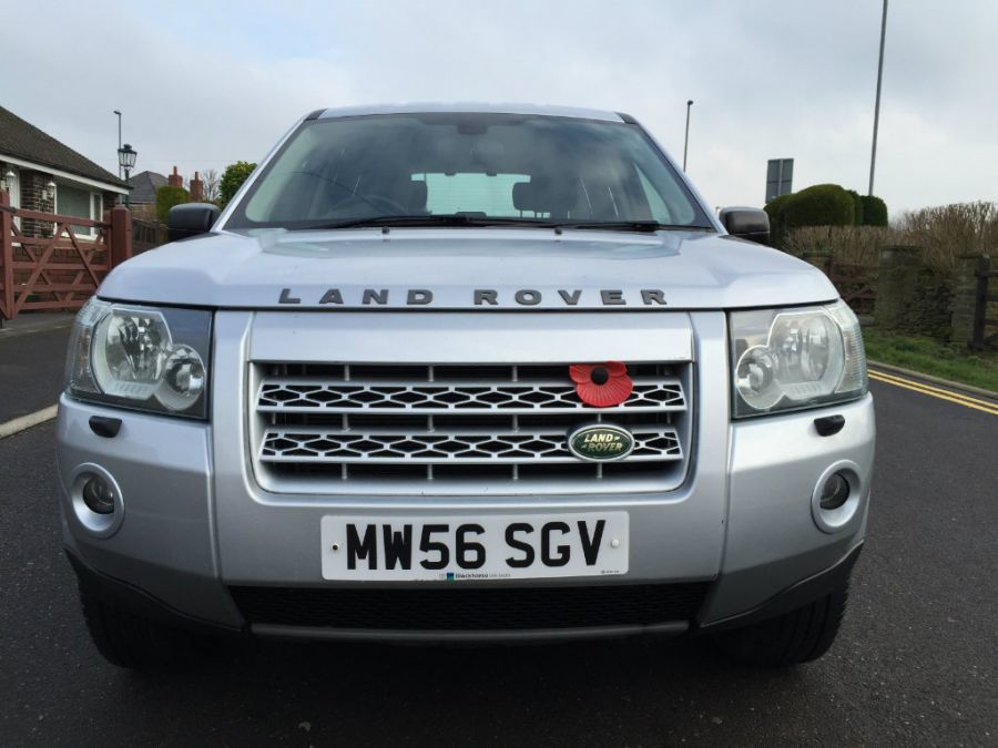 2007  Land Rover FREELANDER 2 2.2 Td4 GS 5dr, 4WD, SILVER