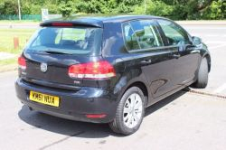 2012 Volkswagen Golf 1.6 TDI Match BLACK