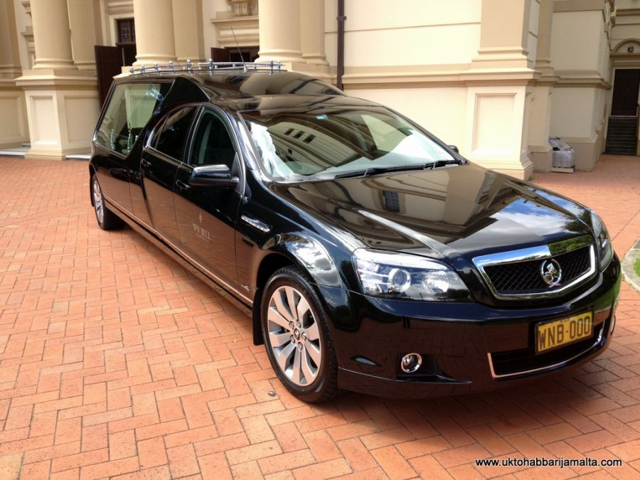 'DUEL-CAB' HOLDEN COMMODORE HEARSE